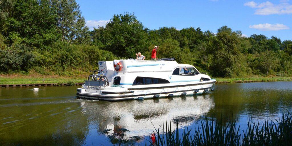 Hausboot Frankreich mieten