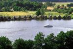 Mirow an der Müritz mit dem Hausboot