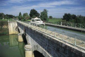 Aquaedukt in Aquitanien