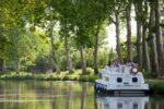 Mit dem Hausboot den Canal-du-Midi