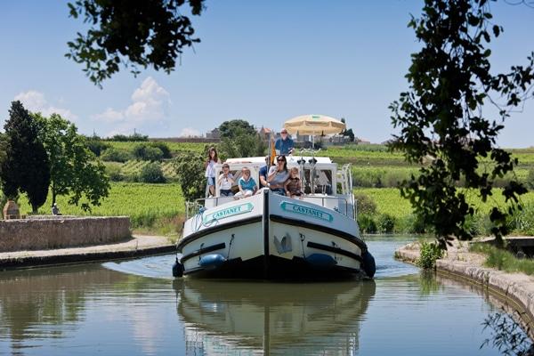 Hausbootferien Penichette Canal Midi
