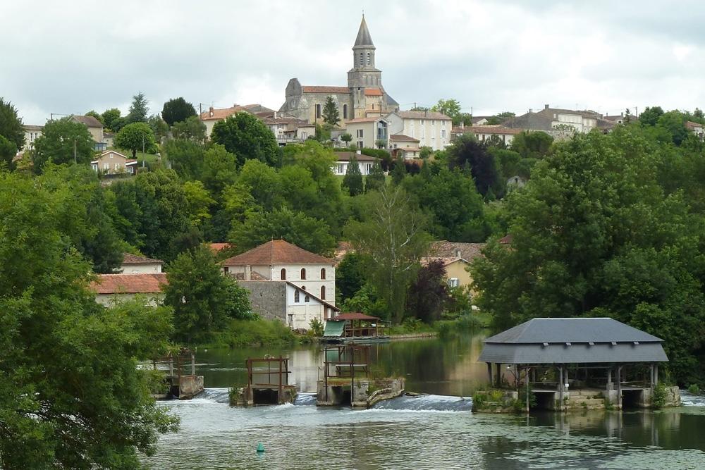Charente Fluss in Frankreich