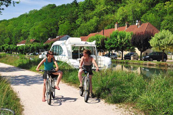 Canal Burgund Fahrradwege