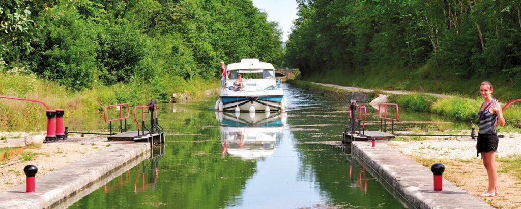 Hausboot Bourgogne