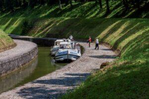 Hausboot Burgund