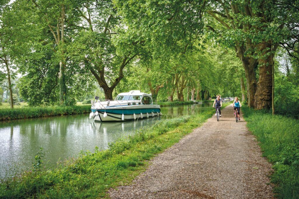 Hausboot Burgund Saone