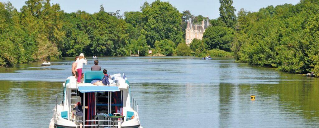 Hausboot mieten Anjou
