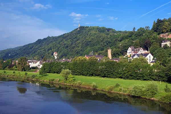 Mosel und Rhein