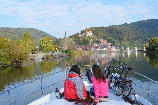 Hausboot Neckar Eberbach
