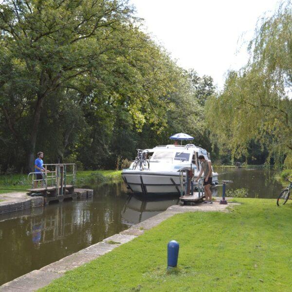 Hausboot Nivernais und Loire