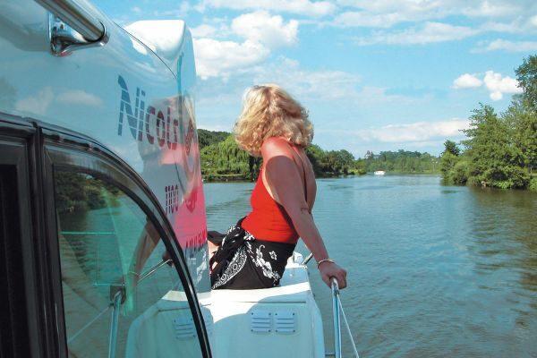 Hausbootfahrt Anjou Frankreich