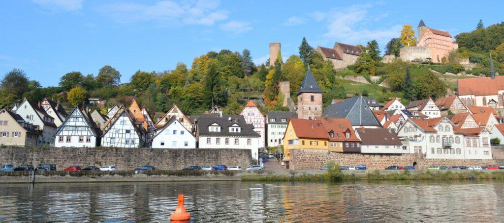 Hausboot mieten Neckar