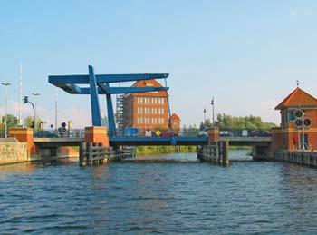 Klappbrücke Peene