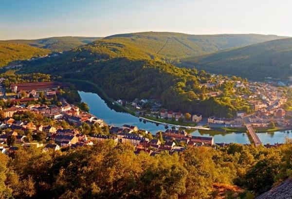 Flusschleife Ardennen
