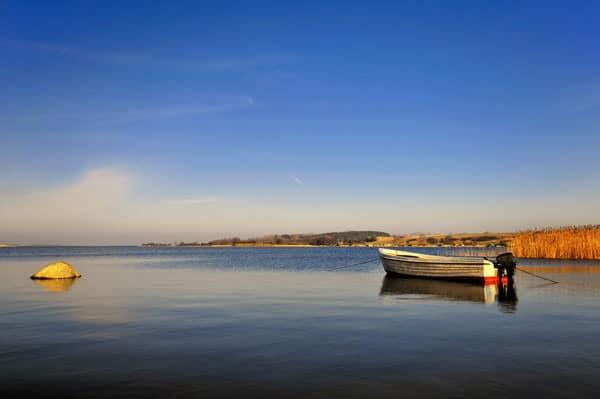 Achterwasser und Usedom
