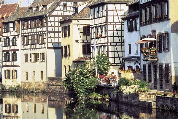 Hausbooturlaub Elsass Lothringen Strassburg