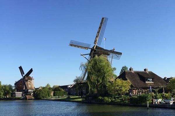 Windmühlen Hausbootreise in Holland