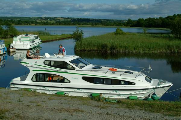 Anlegen Irland mit dem Hausboot