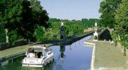 Aquaduct bei Briare nähe Chatillon