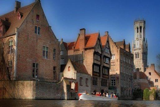 Routen in Belgien mit dem Boot