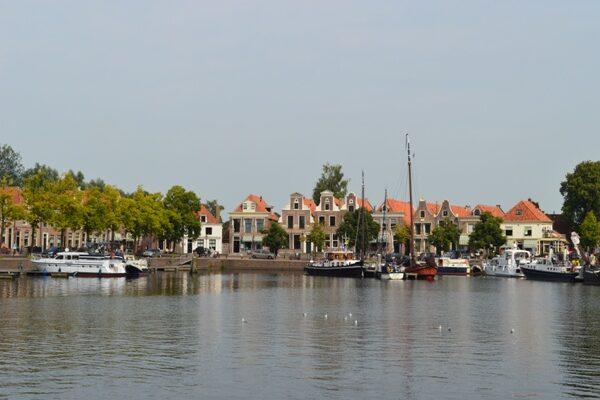 Blokzijl Hafen in Friesland
