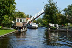 Hausboot Holland Brücke