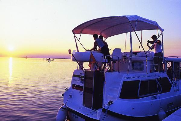 Chioggia Penichette in der Abendsonne