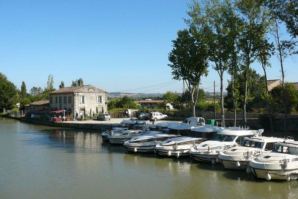 Hafen in Bram von Nicols