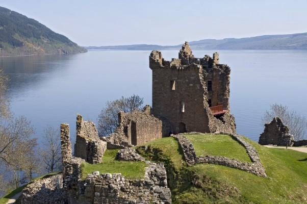 Schloss in Schottland Caledonian Canal