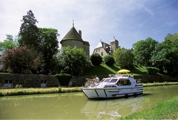 Chatillon en Bazois im Burgund