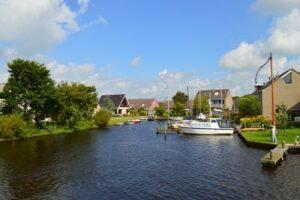Friesische Seen Boote im Hafen