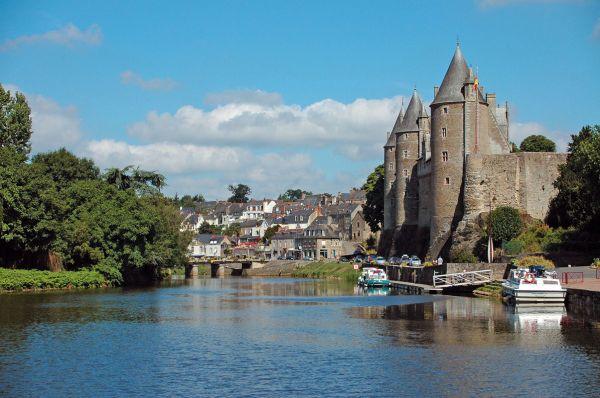 Schloss Josselin in der Bretagne