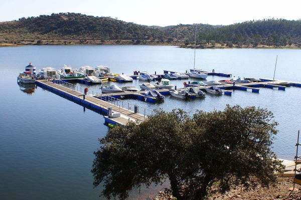 Hafen Amieira Portugal