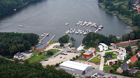 Hafen Waren Marina Eldenburg