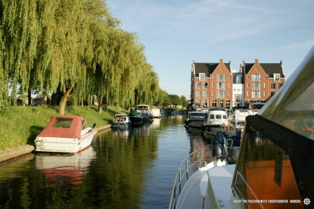 Hafen Yachtcharter Huibers Südholland