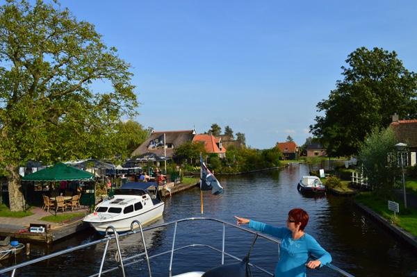 Hausboot in Friesland