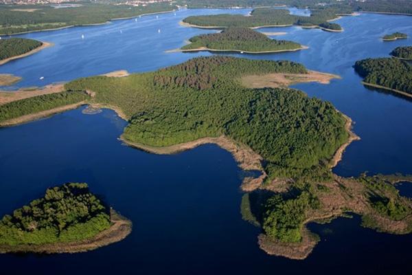 Masurische Seenplatte Polen