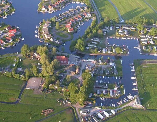 Hausboot mieten Friesland