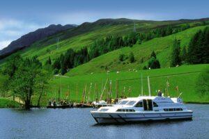 Hausboot mieten Schottland