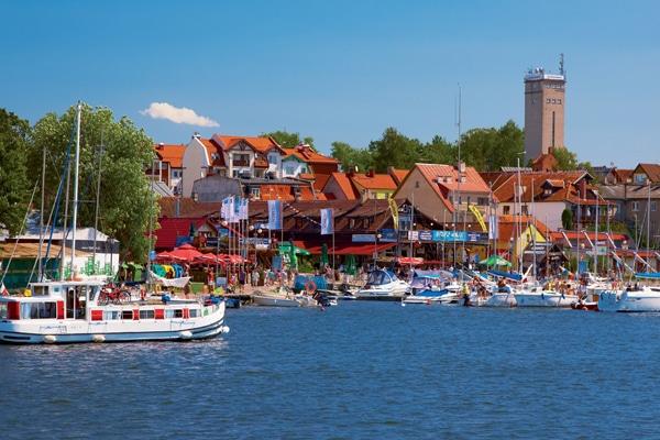 Hausboot Polen