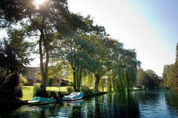 Hausboote in Belgien