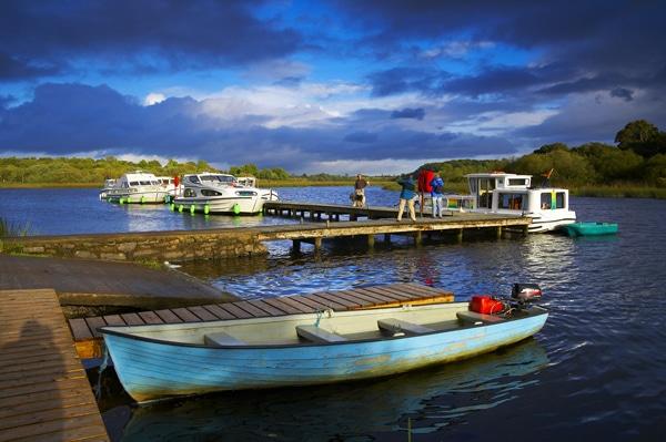 Hausbooturlaub in Irland Hafen
