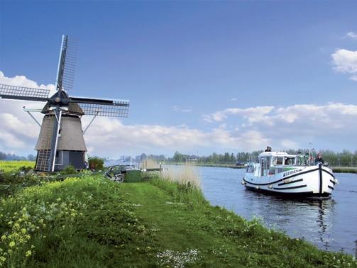 Windmühle bei Amsterdam