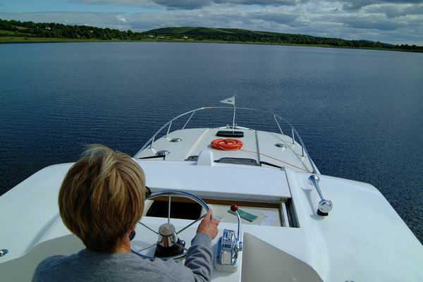 Boot fahren Irland auf dem Shannon