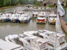 Hafen Lagarde im Elsass