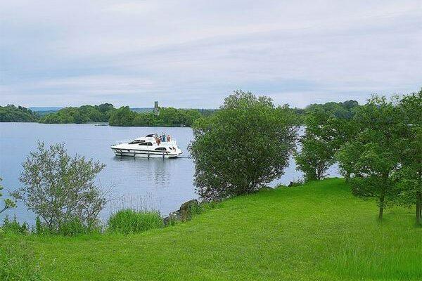 Lough Key Irland Bootfahren