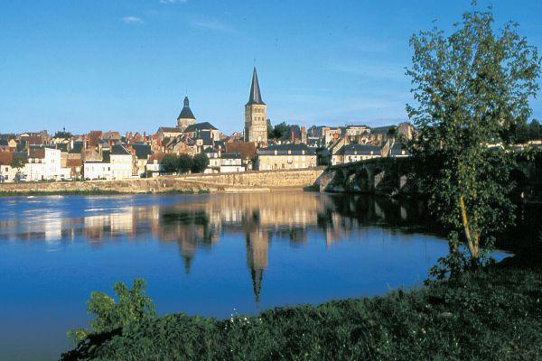 Nevers Plagny an der Loire