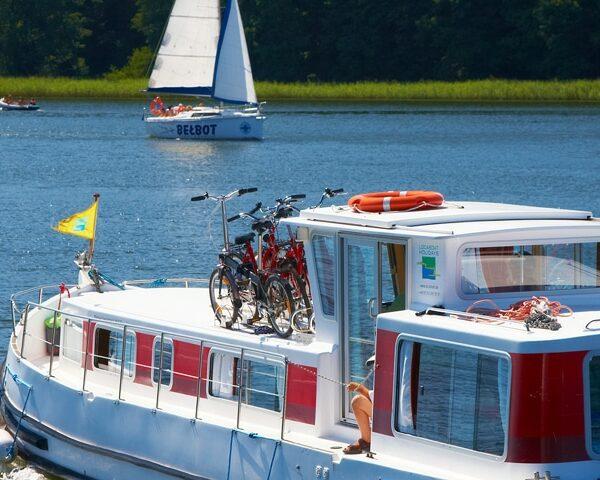 Hausboot mieten Polen