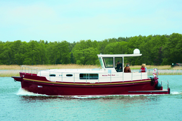 Riverboat 1122 Hausboot