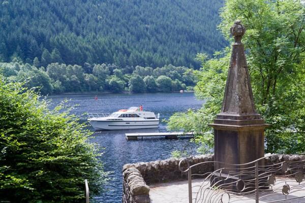 Schottland Hausbootfahren
